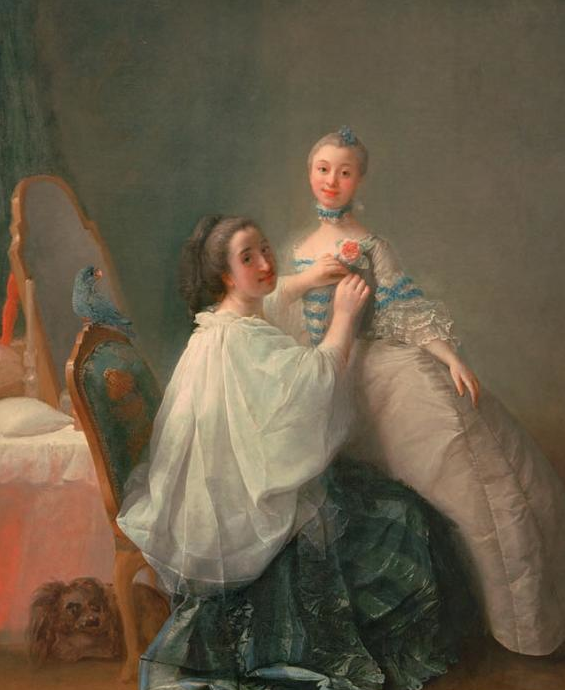 Before the Debutante Ball by Alexander Roslin