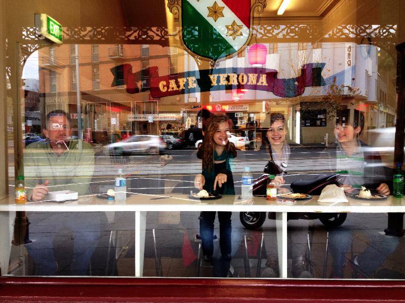 Queen Victoria Market + Cafe Verona