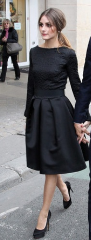 Olivia Palermo in Christian Dior