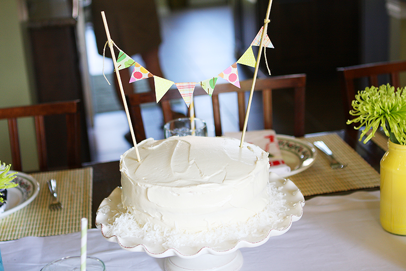 Gratuitous cake photo.