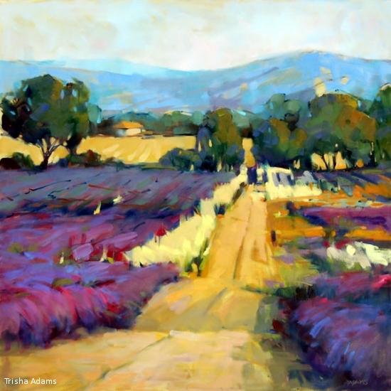 Return to the Lavender Field,  Trisha Adams