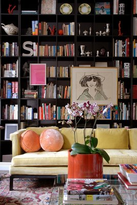 library room designed by Tracey Garet  via