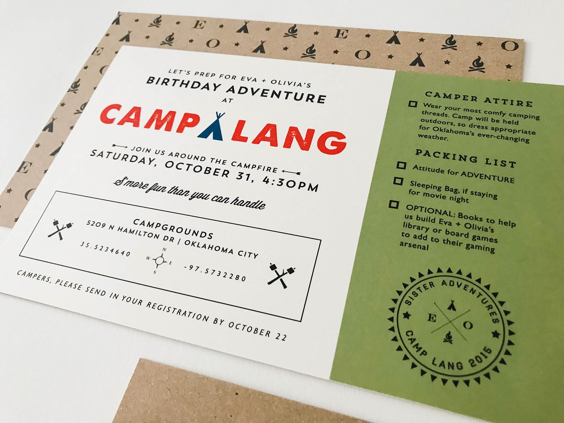 camp lang invite