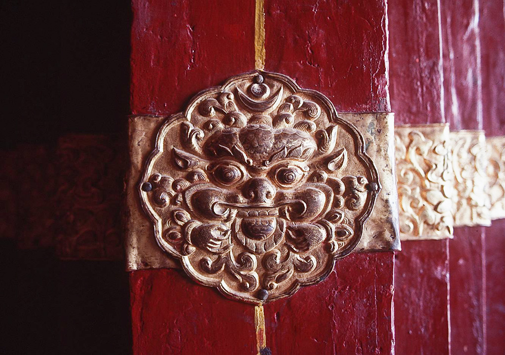 Detail from the Potola, Lhasa, Tibet