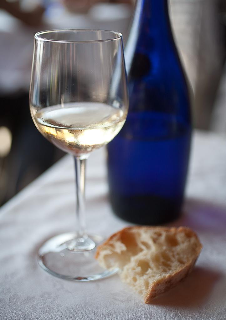 White wine & bread, Italy