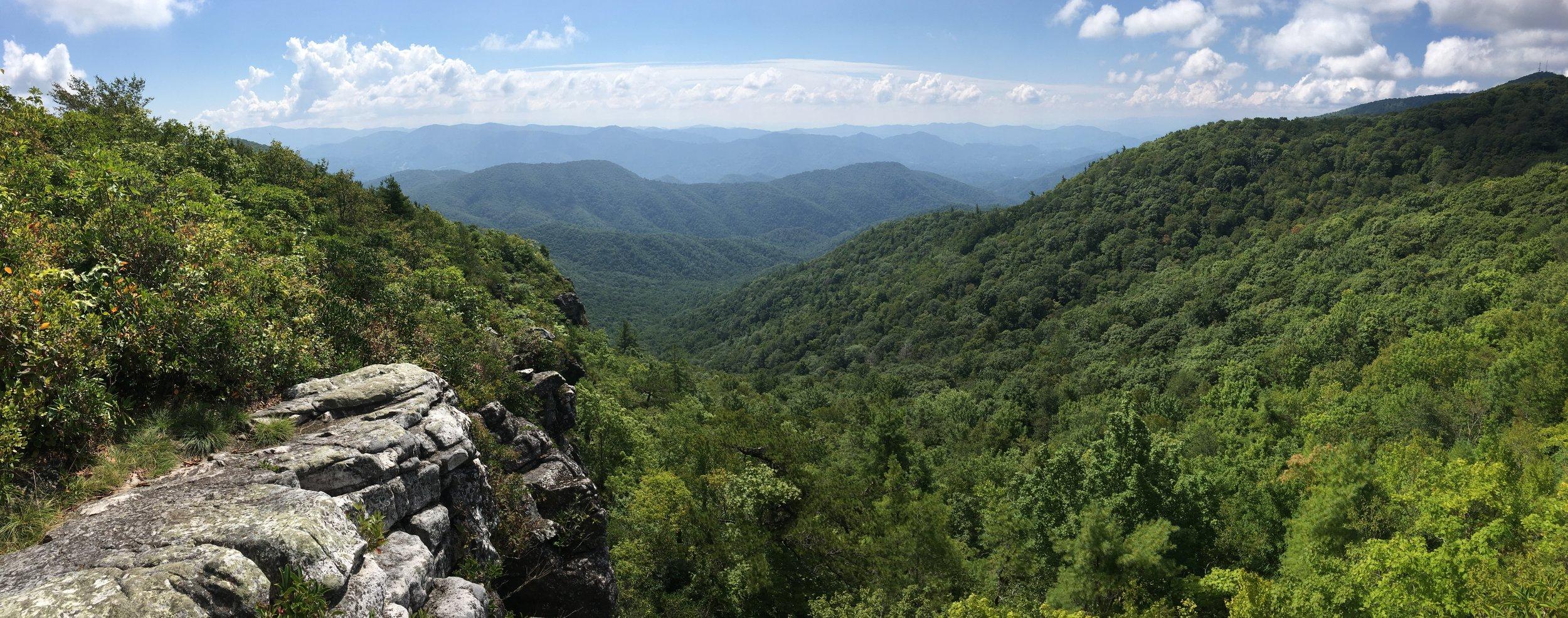 Whiterock Cliffs