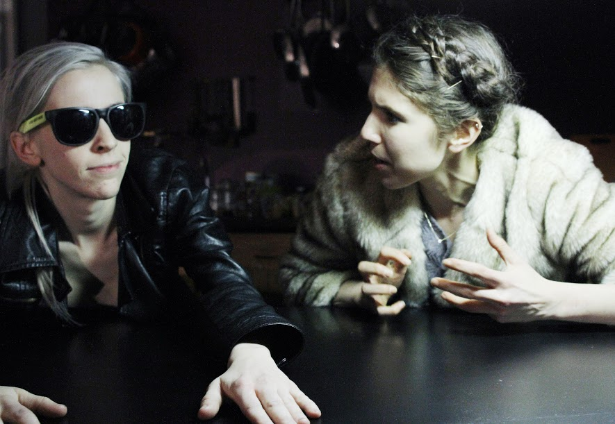 Pictured: Emilie Soffe and Elly Smokler. Photo by Crystal Arnette.