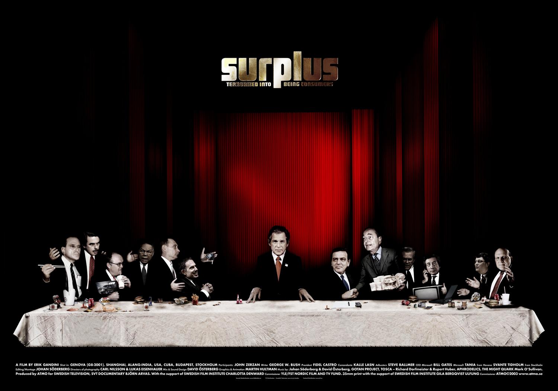 Surplus, Official Poster, 50x70 cm