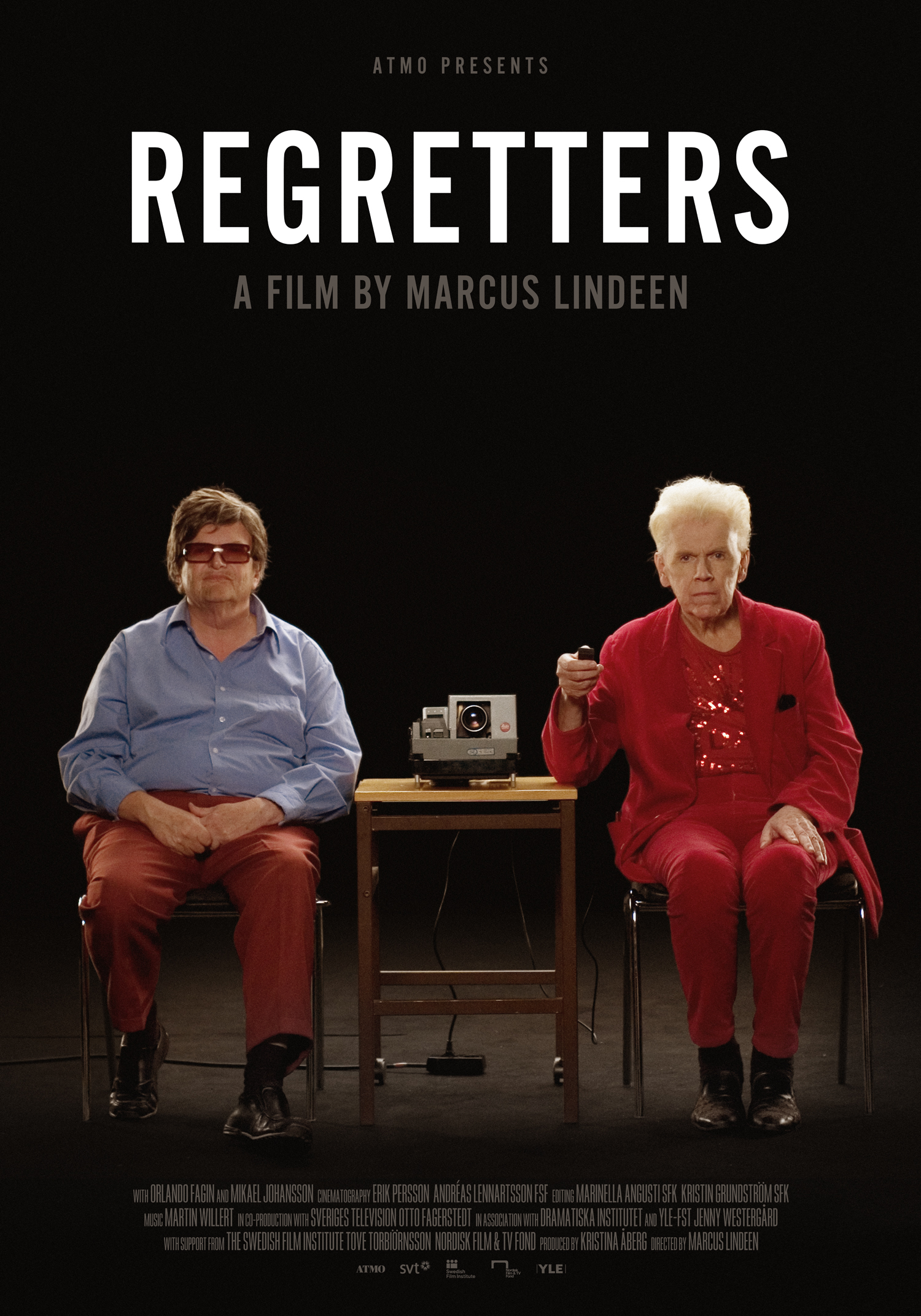 Regretters, Official Poster, 70x100 cm