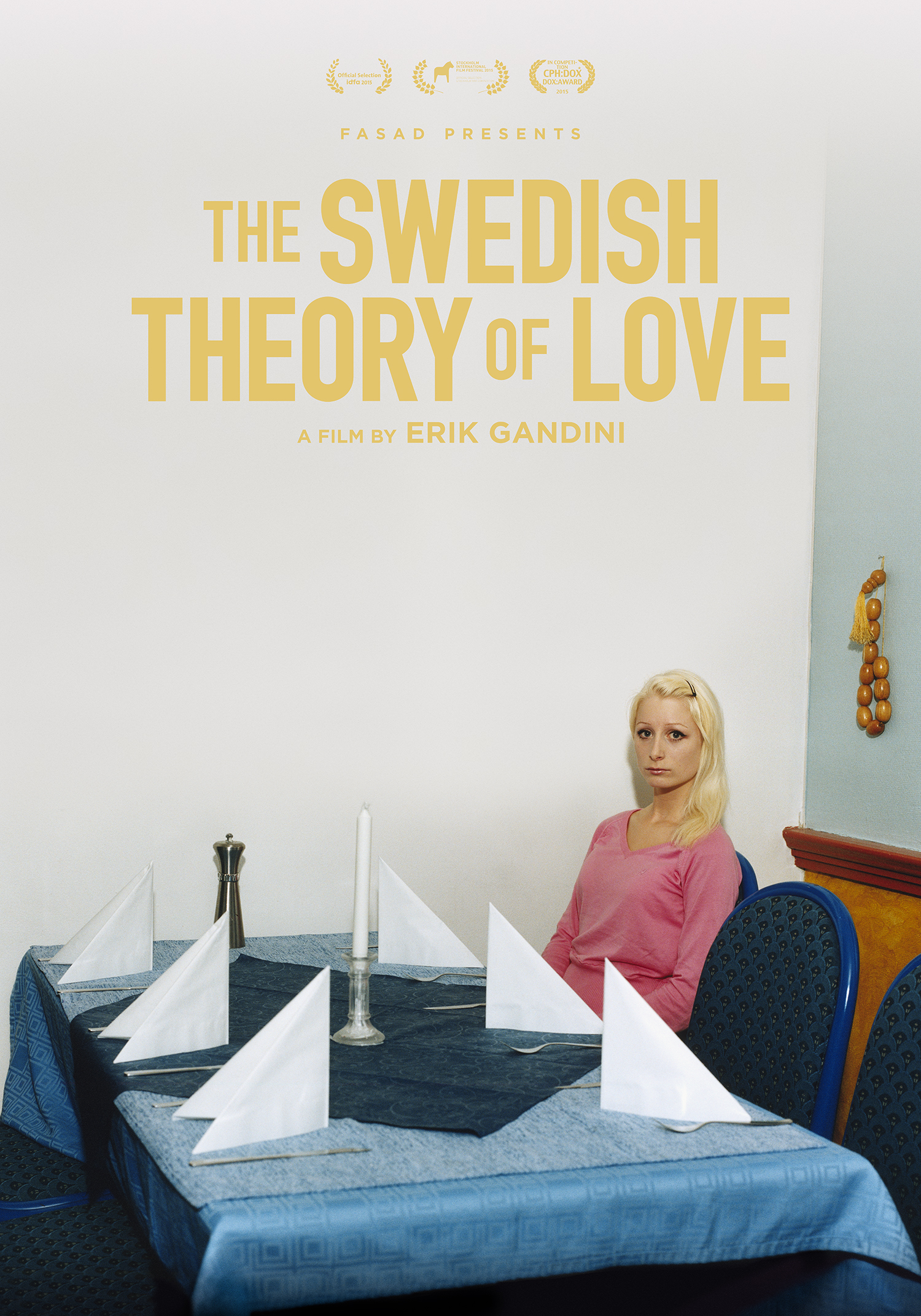 The Swedish Theory of Love Official International Movie Poster (Nonstop Entertainment)
