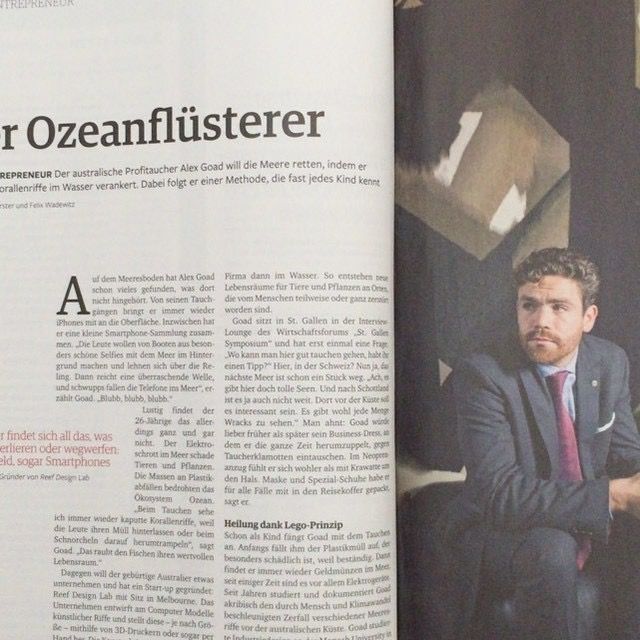 Featured in Impulse Magazine Germany February 2017