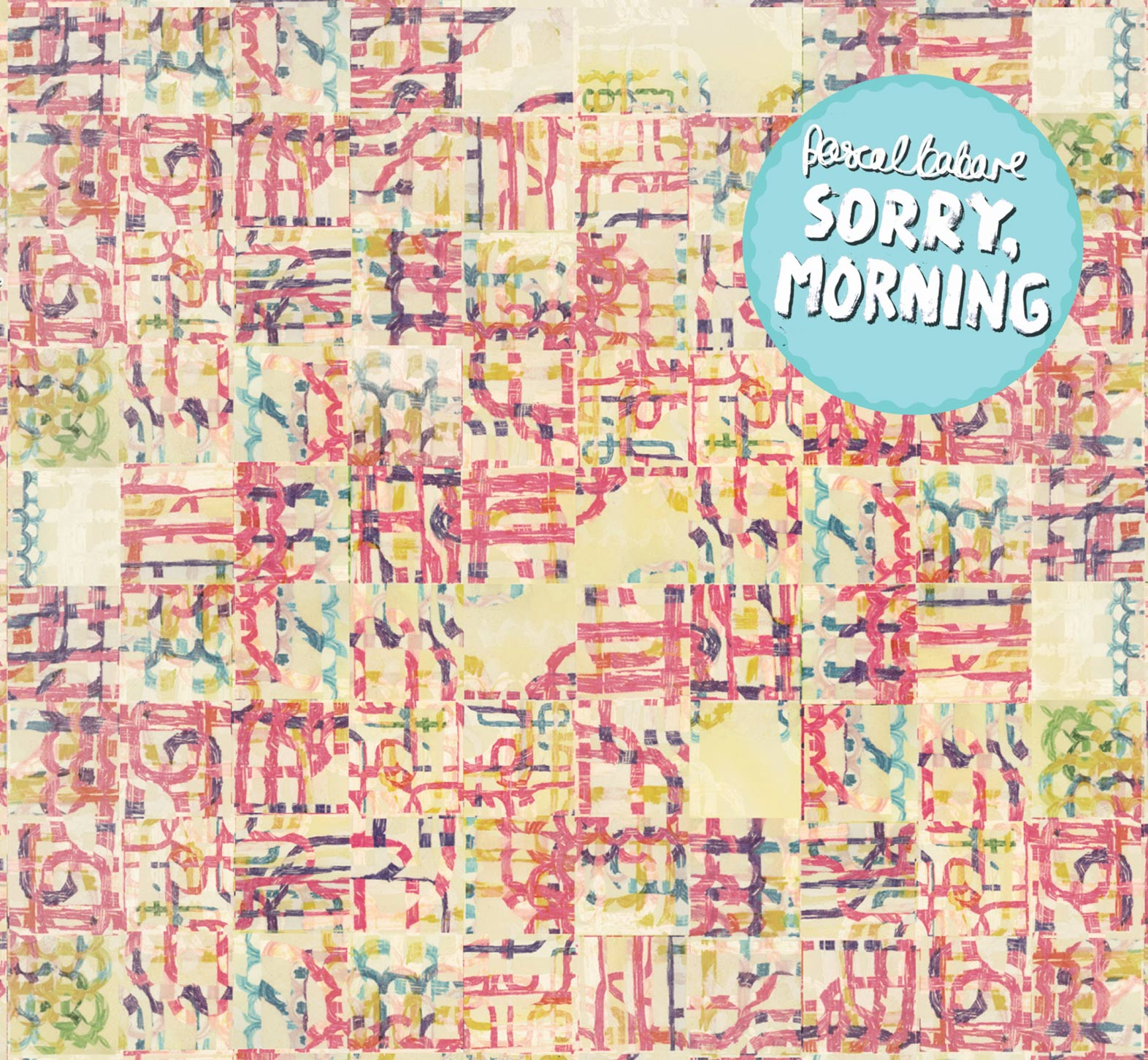 """My second solo LP """"Sorry, Morning"""", quietly released in 2013,was recorded between Germany and London.  It was recored a little better, and lyrically it's a bit more cold.But the songs are mostly about me. In fact they're all about me, even the ones where I say it's about someone else. Except the breakup song. That's definitely not about me. But it also kind of is. Or is it? I guess you'll never know. -Pascal Babare, 2016  You can get the digital version  here . I also have some lovely cardboard gatefold CDs, which come with a big fold-out poster of the artwork and lyrics inside. Get in touch if you'd like to buy one."""