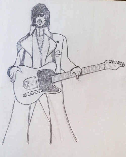 Prince, circa 1984. Anyone who was cool looked like this. So, no one was cool. (Except Prince, he was cool.)