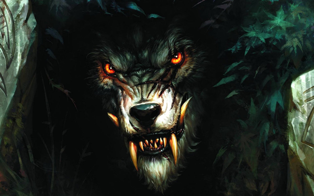 "Near as I can tell, this art was commissioned for the RPG ""Werewolf: The Apocalypse"" by White Wolf Publishing. And I think it's just swell."