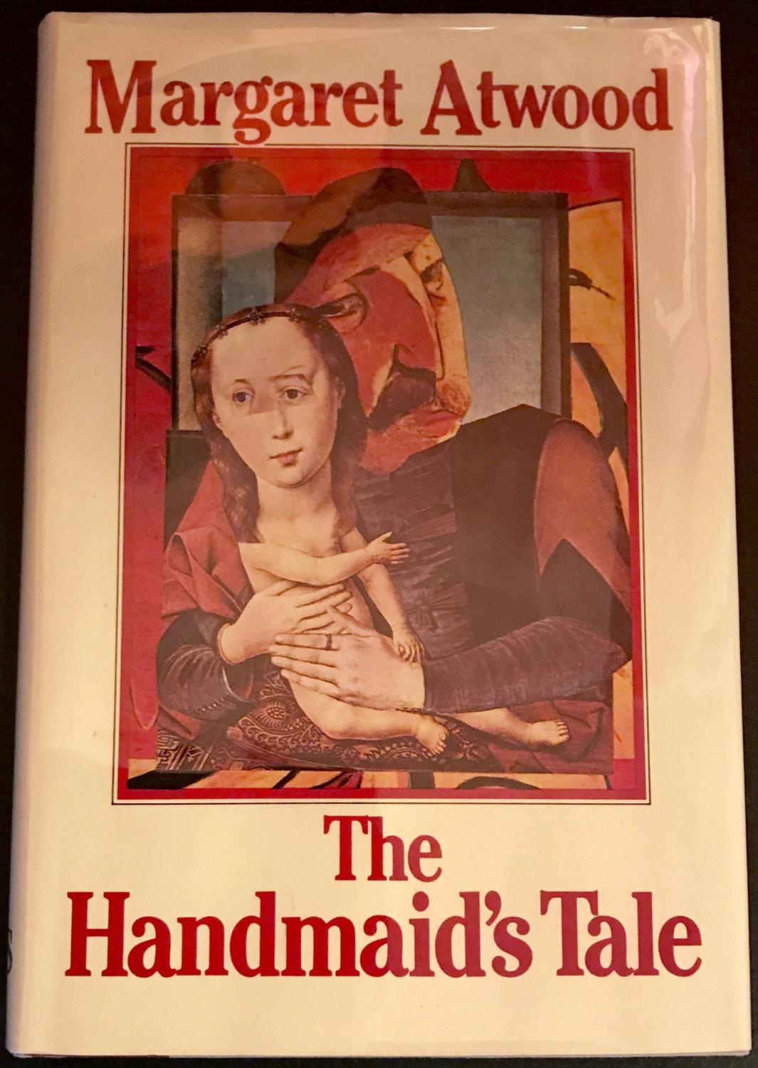 The Handmaid's Tale by Margaret Atwood, first edition cover