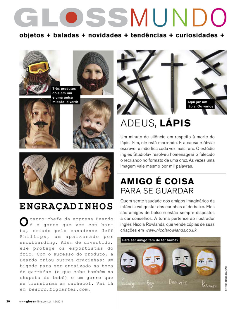 GLOSS magazine, Brazil, December 2011
