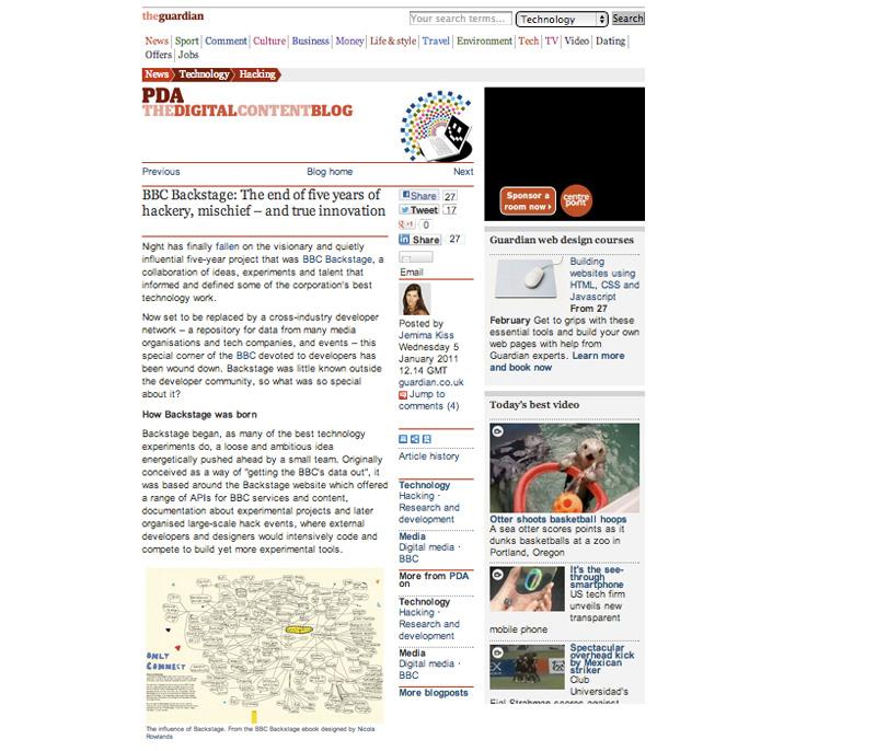 Illustration on Guardian website