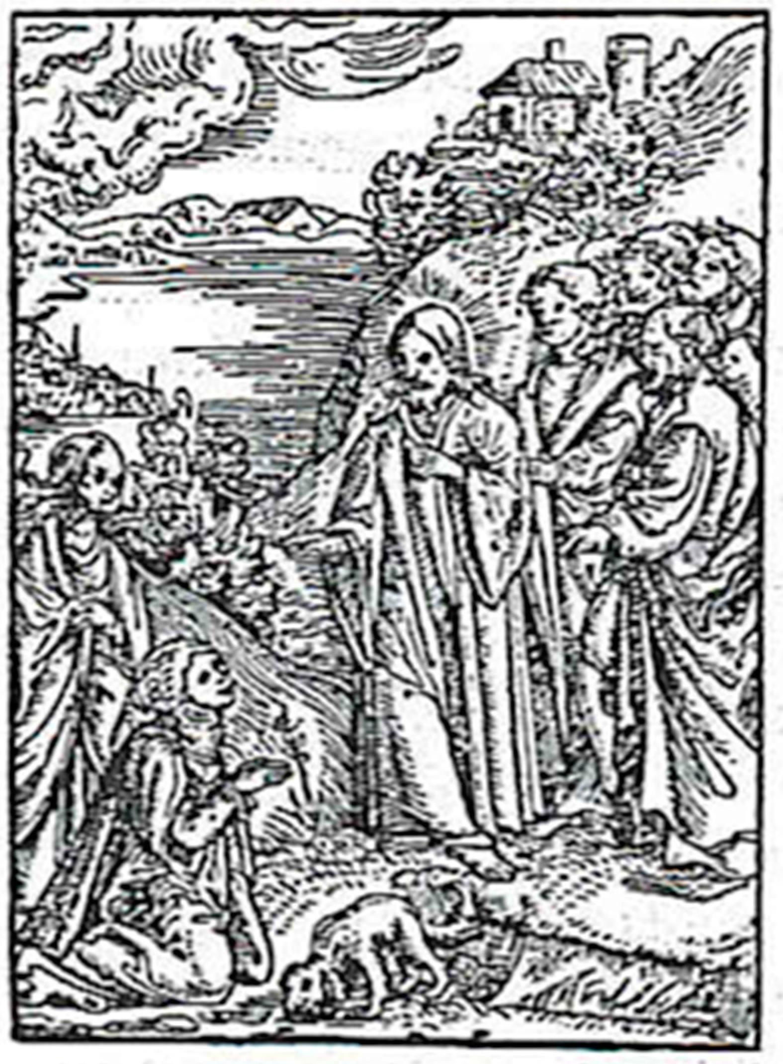 Cranach's Woodcut