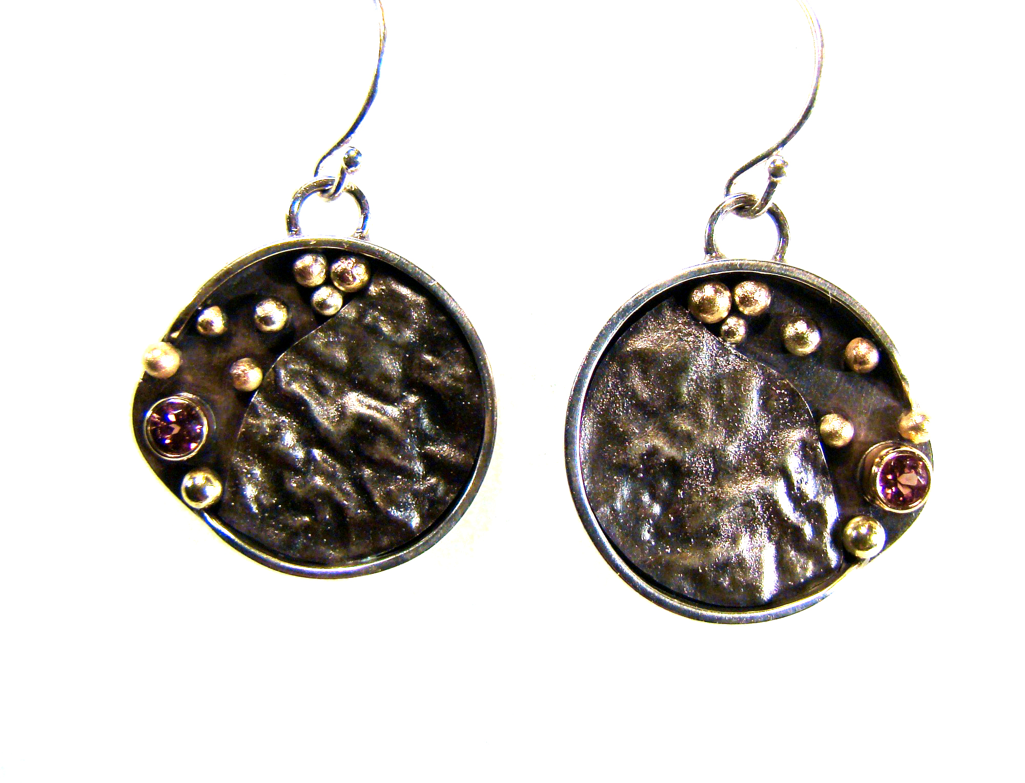 Round Tourmaline Earrings #841.jpg