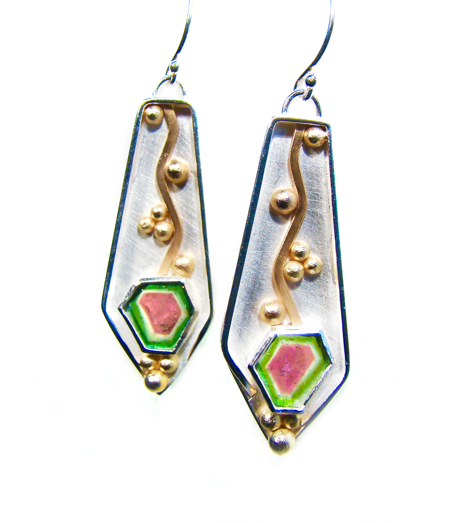 Watermelon Tourmaline Earrings #857.jpg