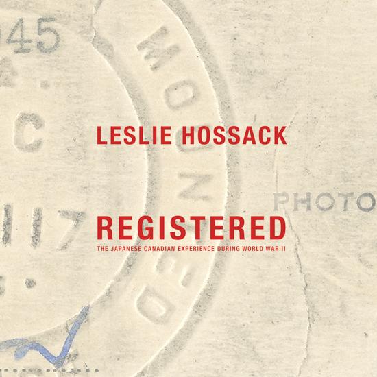 Leslie Hossack  - 1st Book Prize
