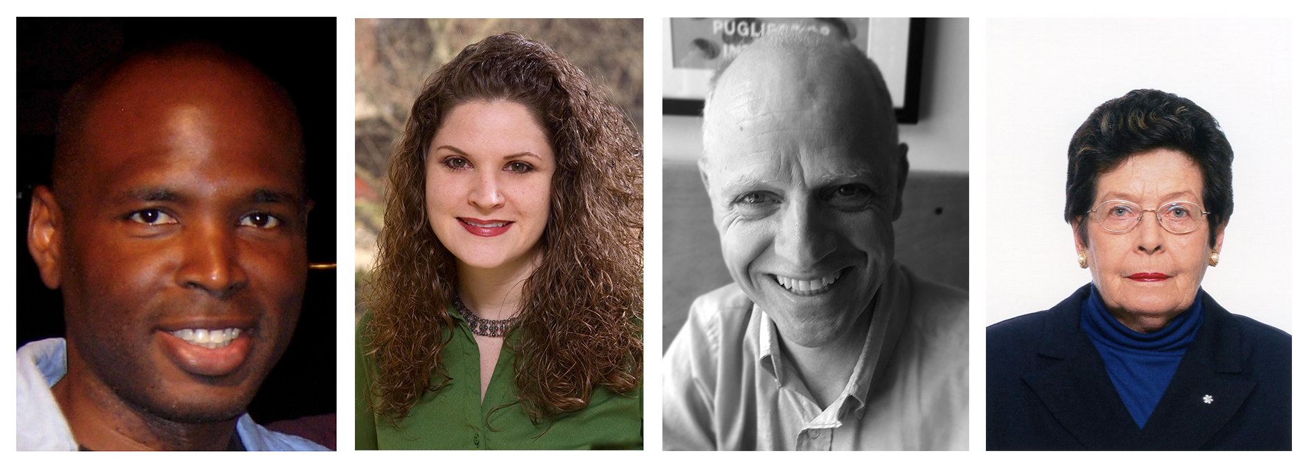 L-R: panellist Patrick Lynn Rivers; panel moderator Monica Patterson; panellist Charles Reeve; panellist Jennifer Dickson.