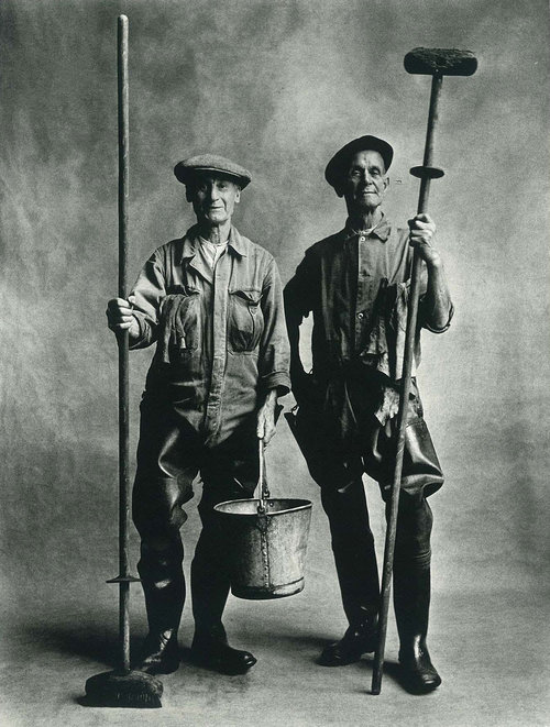 Lorry Washers  by Irving Penn (1950).