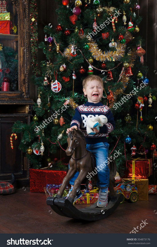 Das obilgatorische Weihnachtsfoto zur Einstimmung auf die Weihachtszeit. Hier sind echte Gefühle am Start.