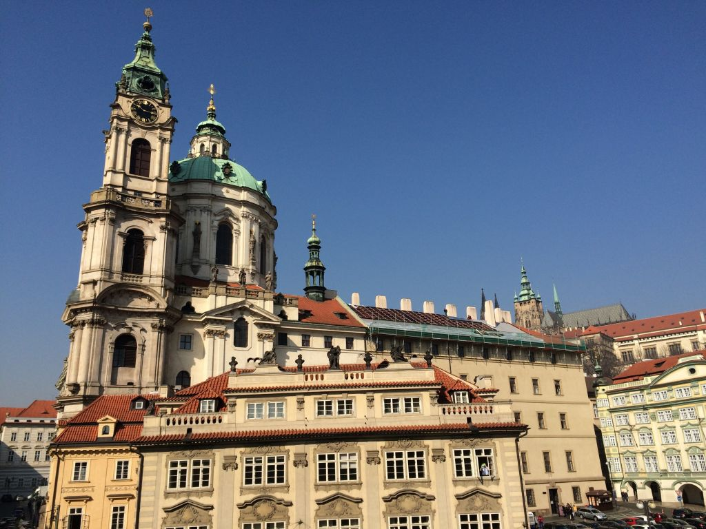 Our accommodations in Prague