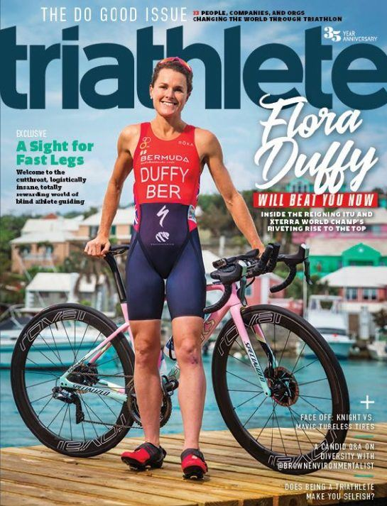 Our triathlon training camps were featured in the Sept. 2018 issue of Triathlete.