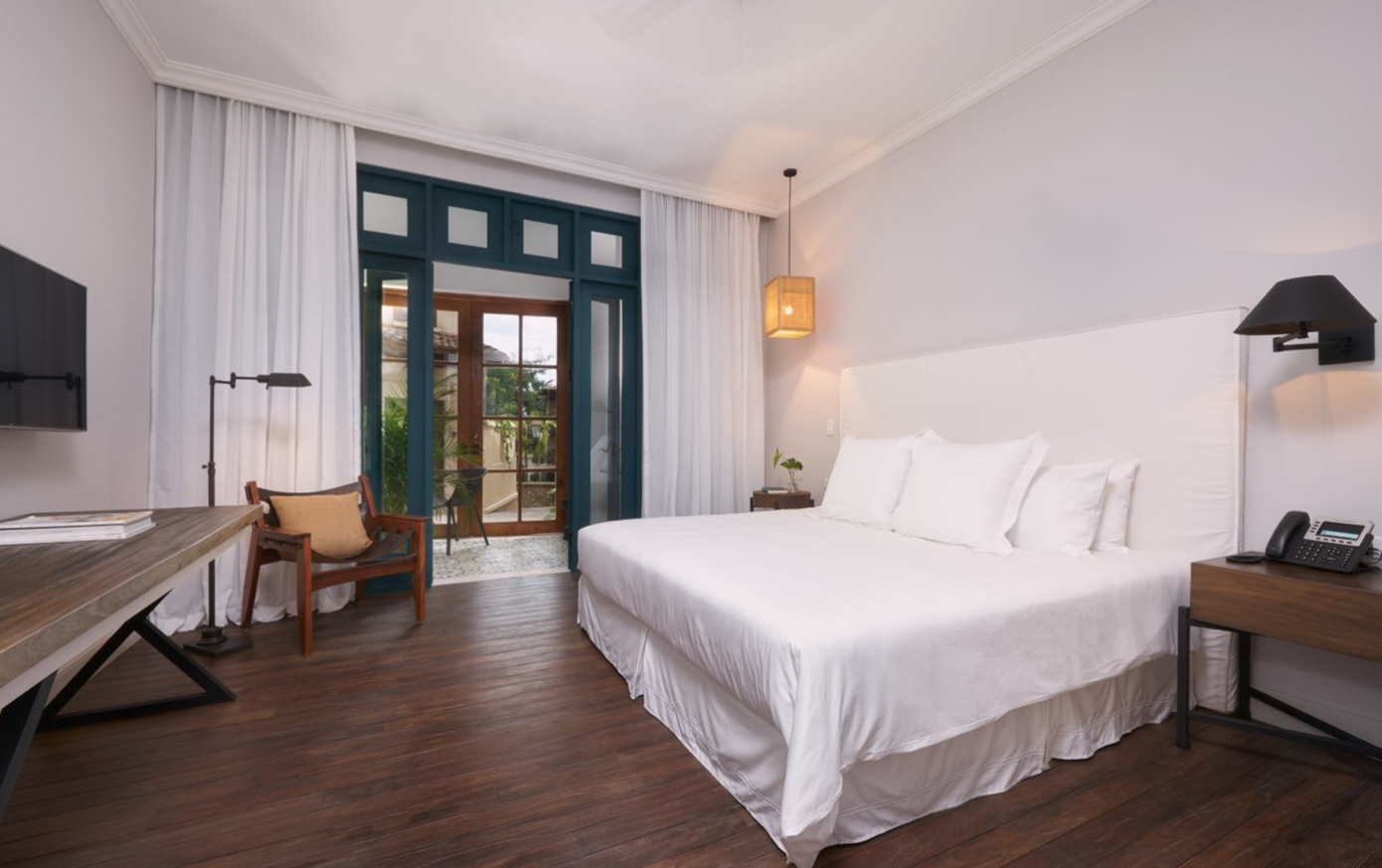 """A standard room at the 5-star Santarena Hotel is far from """"standard."""""""