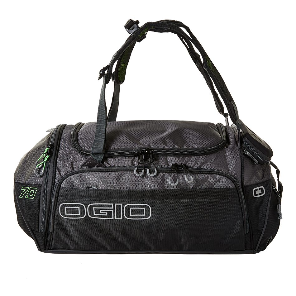 "The OGIO Endurance 7.0 is a thoughtful piece of gear ideal for everything from the race day transition area to a week or more of traveling. We like that it qualifies as an  approved carry-on  while still allowing you to pack thoroughly for your trip. Lots of pockets, compartments, a hard-case ""tech vault,"" organized side pockets and adjustable backpack straps make this carry-on a cut above the rest."