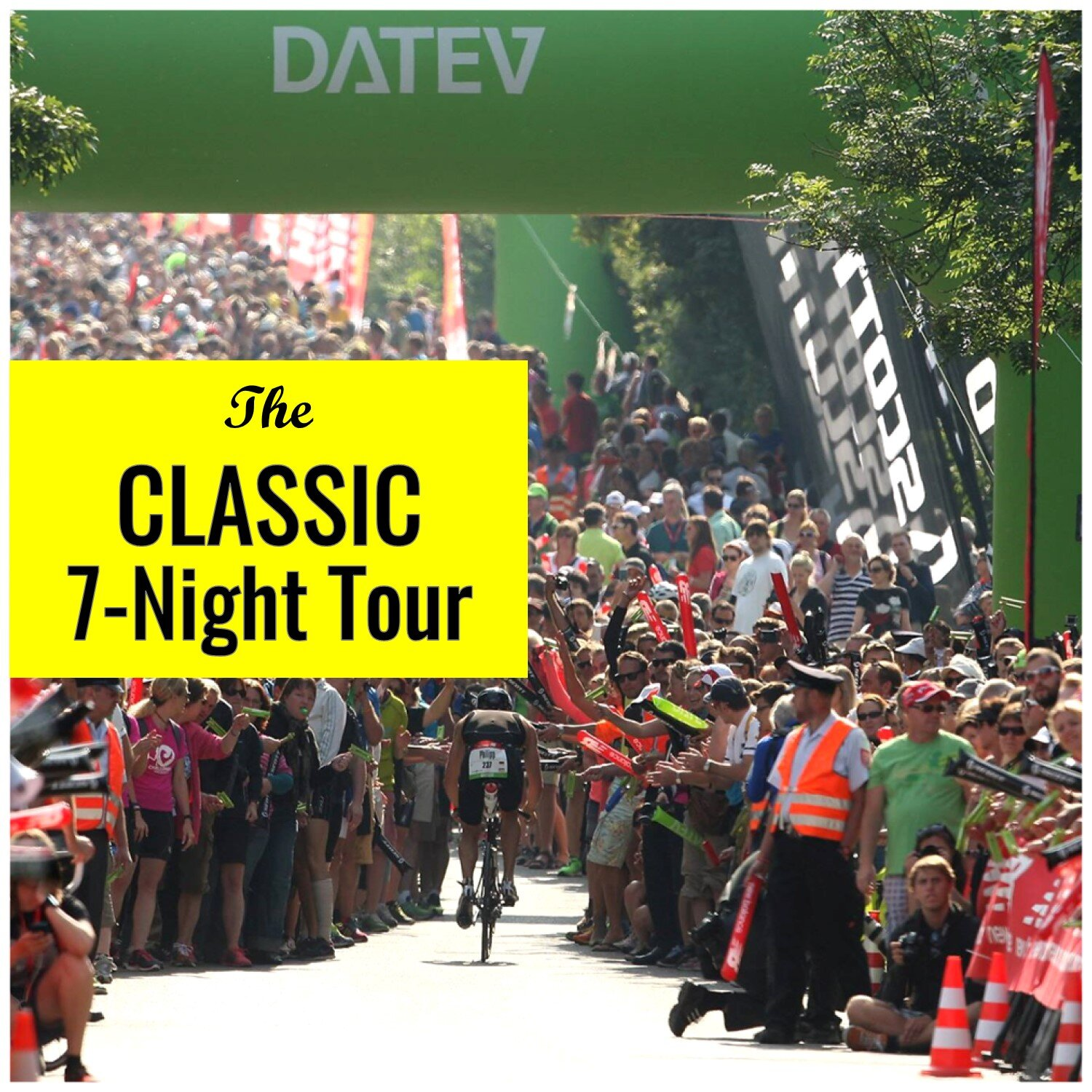 Challenge Roth 7-Night Classic - Race Entry Access7-Nights in 4* Nuremberg HotelDaily BreakfastChallenge Roth Tour ServicesIdeal for Teams, Clubs and GroupsGreat Value on Our Most Popular Tour!BRING YOUR ENTIRE TEAMCLICK HERE FOR DETAILS