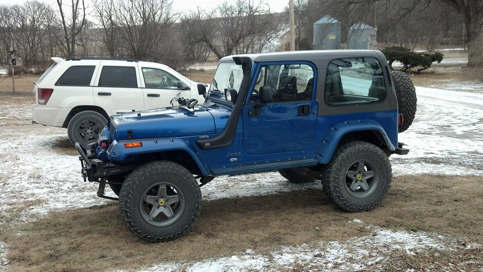 The 2005 WK and the trusty 1995 YJ that have served well