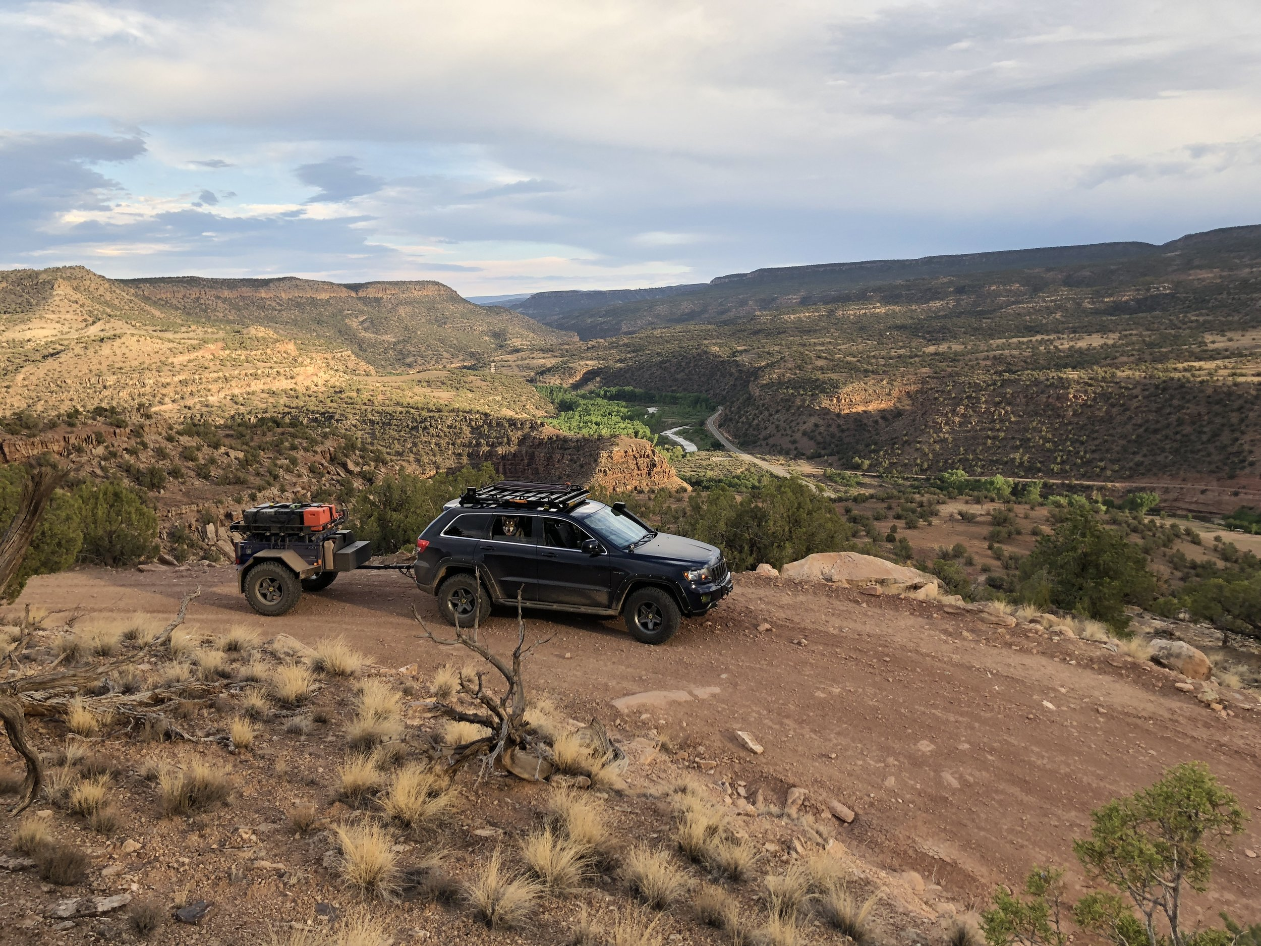 Rimrocker Trail Recon - Multiple days in summer 2018 scouting on the Rimrocker Trail from Montrose, Colorado to Moab, Utah