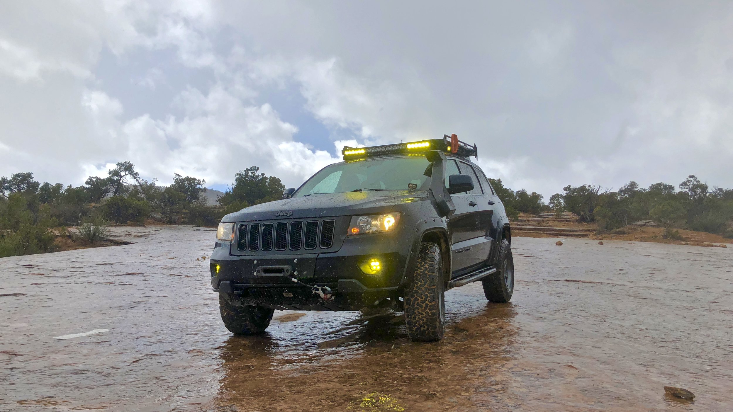 Backcountry travel means being prepared for changing conditions