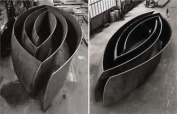 Richard Serra - Blind Spot / Open Ended
