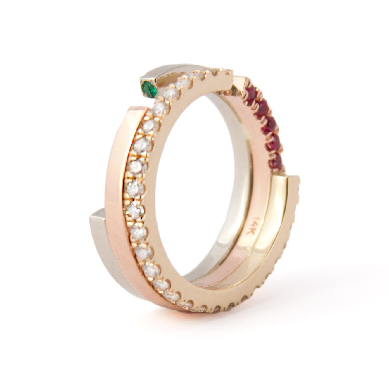 Tilda Biehn Brooklyn NYC Custom Engagement Ring
