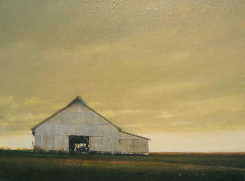 Barn - copyright 2010 Stephen Bach 12x16 oil on canvas.jpg