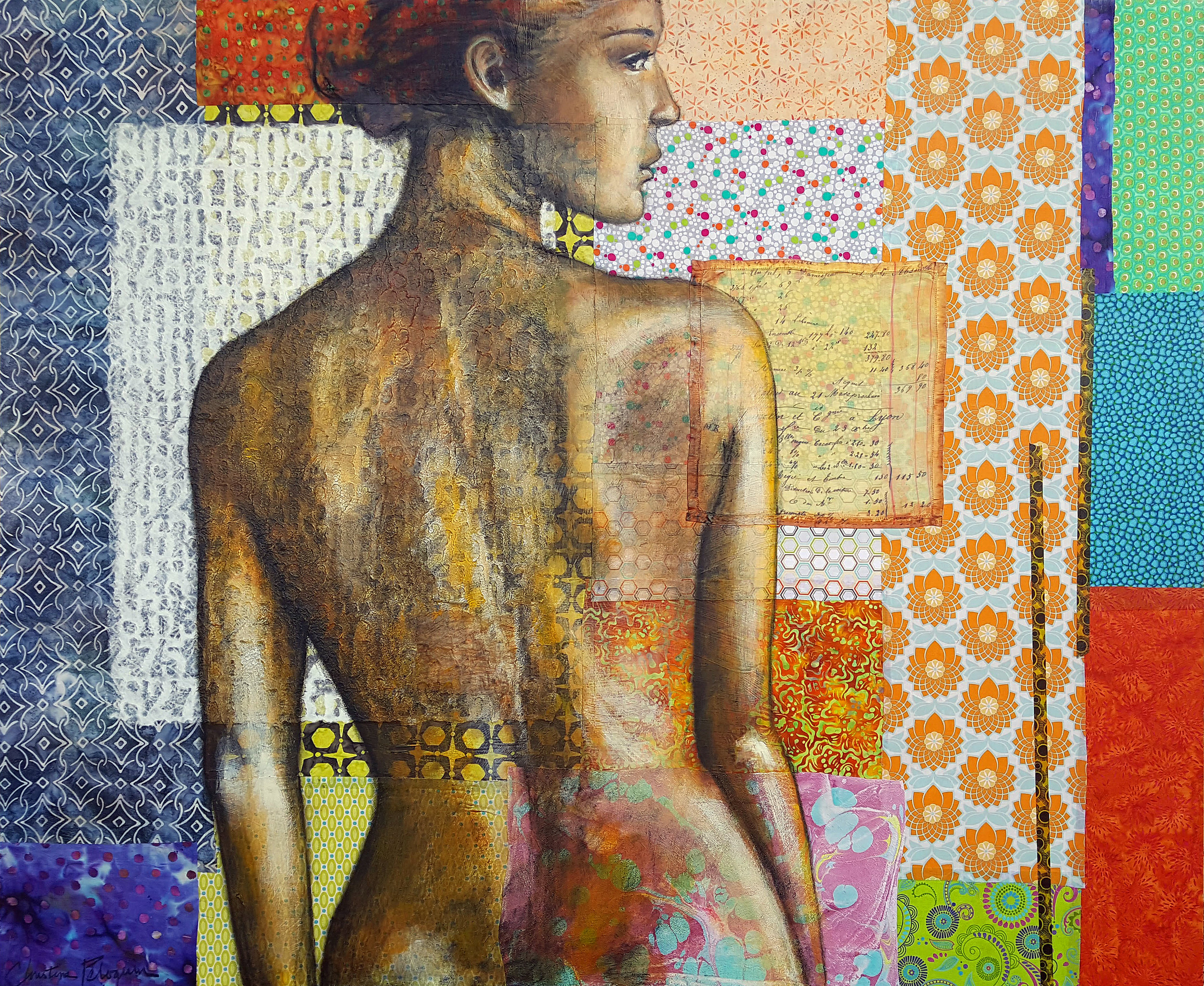 """Numbered, 48"""" x 60"""""""