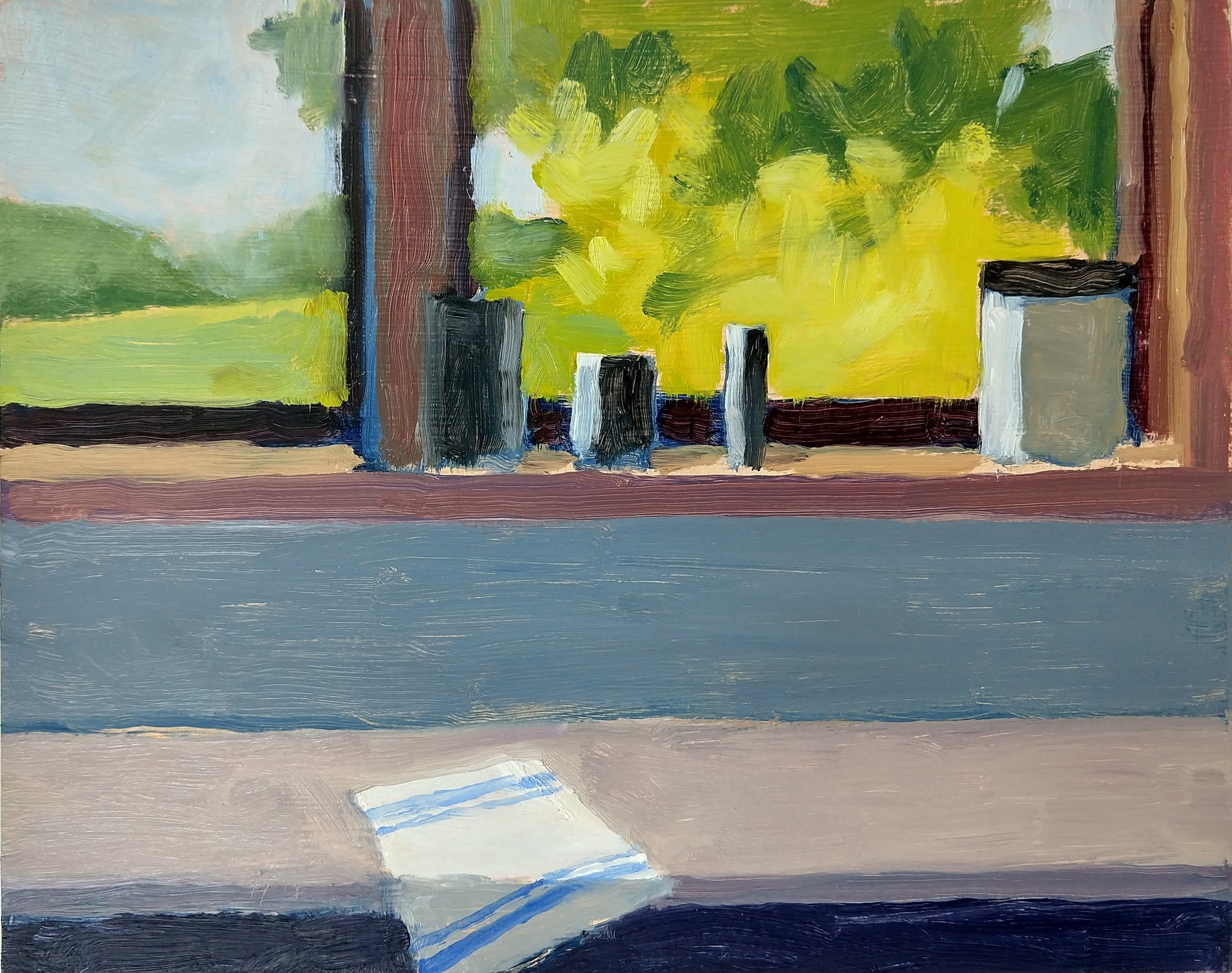 Kitchen Window, Robert Ross, 8x10 in, oil.jpg