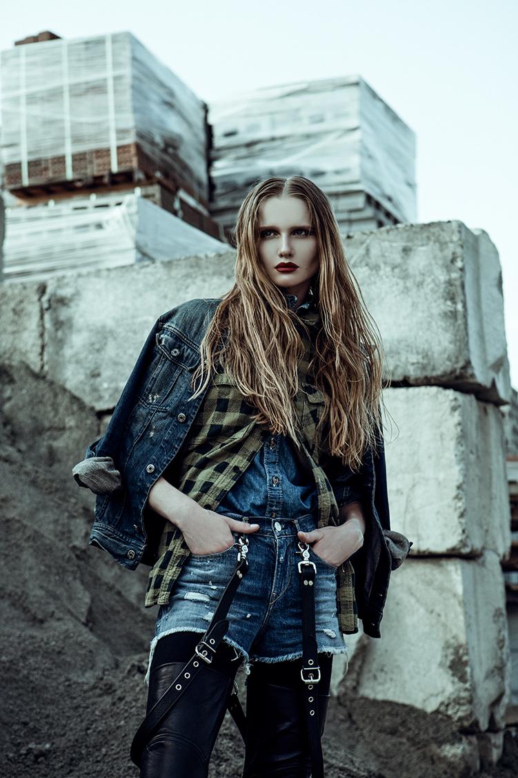 denim+leather//elana jasic
