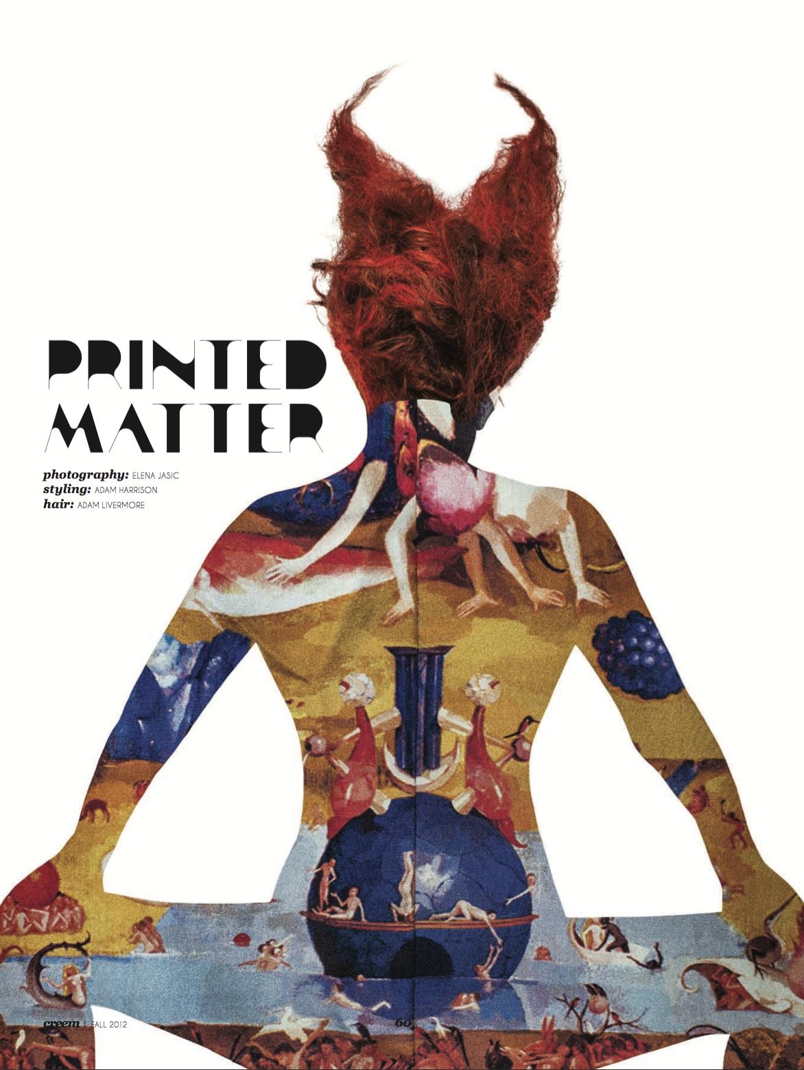 printed matter//elena jasic