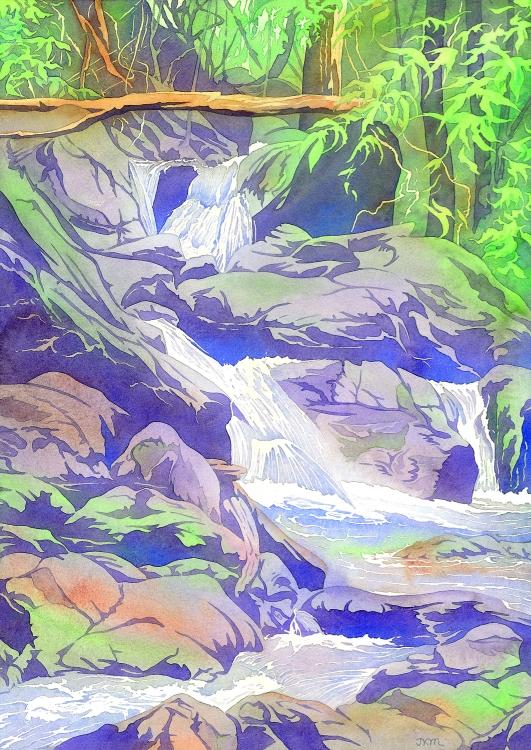Forest Cascade