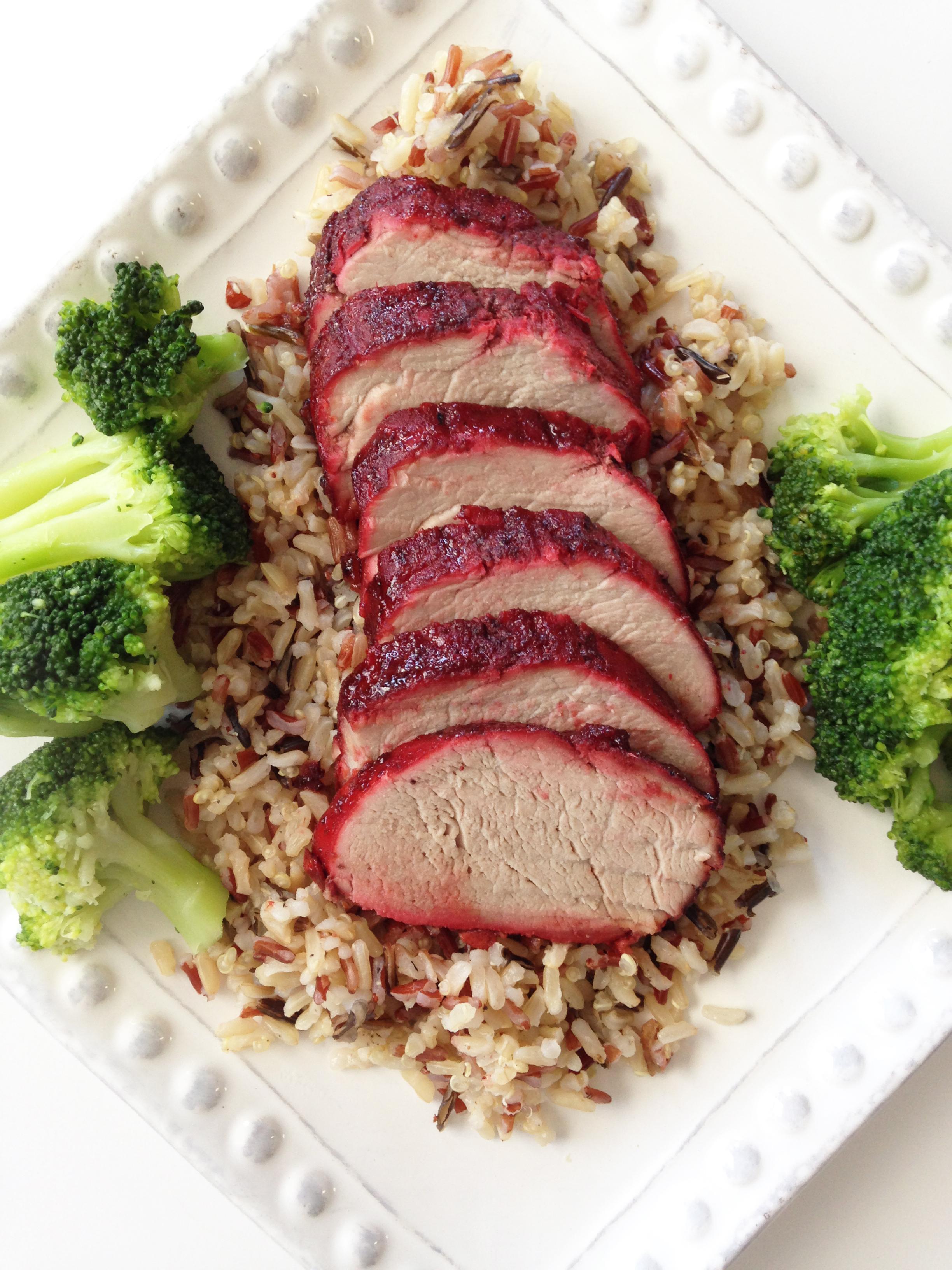 Healthified Chinese BBQ Pork (Char Siu
