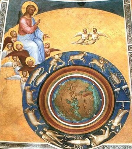 Giusto de' Menabuoi, ca 1376, Baptistery of the Duomo, Padua, Italy