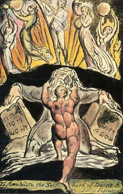 William Blake, To Annihilate the Self-hood of Deceit, from a poem by Milton, 1804