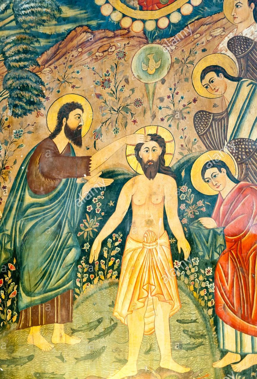 armenian-apostolic-church-mural-baptism-of-jesus-christ-by-john-the-F7T9NK.jpg
