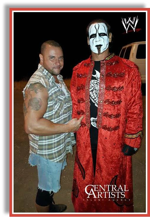 WWE2K16 w/ STING