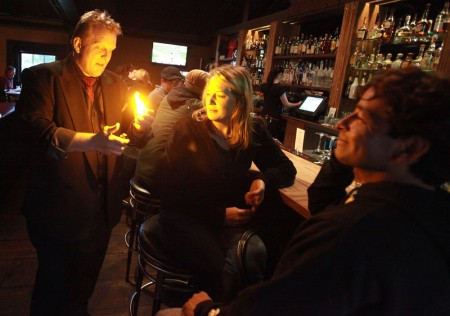 Photo from Press Democrat article, shot at Hopmonk Sebastopol.